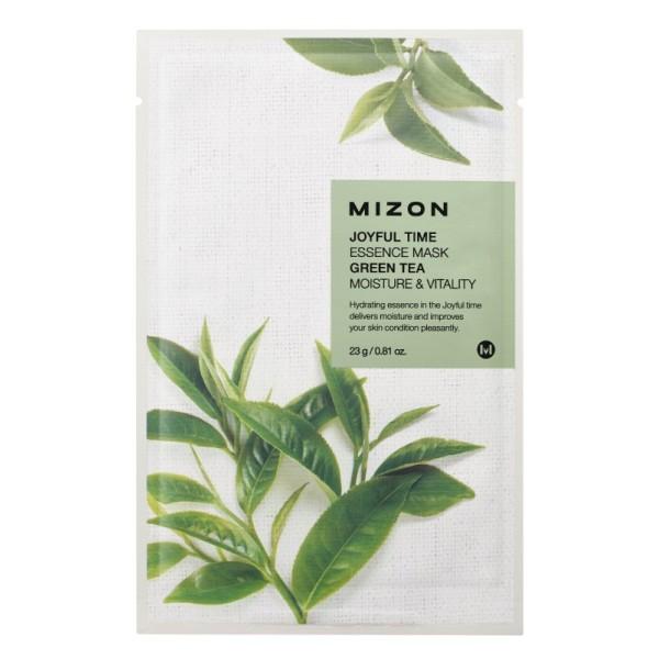 Joyful Time Essence Mask Green Tea Veido kaukė su žaliąja arbata, 23g