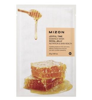 Mizon Joyful Time Essence Mask Royal Jelly Veido kaukė su bičių pikiu, 23g | inbeauty.lt