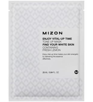 Mizon Enjoy Vital-Up Time Tone Up  Lakštinė tonizuojanti veido kaukė, 25 ml | inbeauty.lt