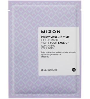 Mizon Enjoy Vital-Up Time Lift Up  Lakštinė veido kaukė su kolagenu, 25 ml | inbeauty.lt