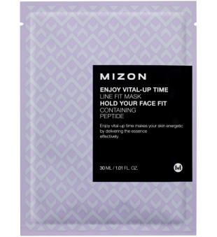 Mizon Enjoy Vital-Up Time Line Fit Time Lakštinė veido kaukė su peptidais, 30 ml | inbeauty.lt