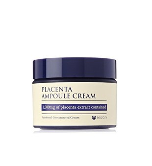 Mizon Placenta Ampoule Cream Veido kremas su placenta, 50ml | inbeauty.lt