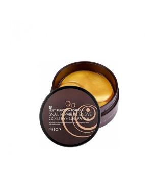 Mizon Snail Repair Intensive Gold Eye Gel Patch Hidrogelio paakių pagalvėlės, 60vnt | inbeauty.lt