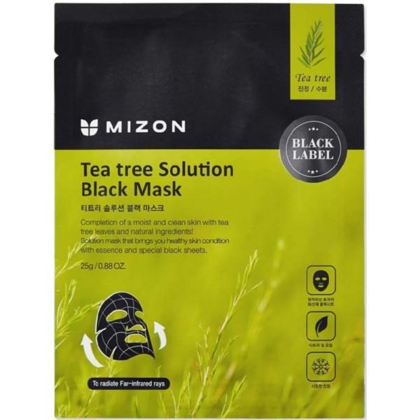 Tea Tree Solution Black Mask Veido kaukė su arbatmedžiu, 25g