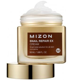 Mizon Snail Repair Ex Cream Universalus veido kremas su sraigių ekstraktu, 50 ml | inbeauty.lt