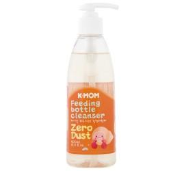 K-MOM Zero Dust Feeding Bottle Cleanser Ploviklis kūdikių buteliukams, vaisiams ir daržovėms, 400ml