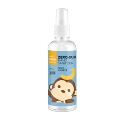 K-MOM Zero Dust Hand Sanitizer Rankų dezinfekcinis skystis 83%, 100ml