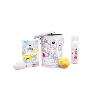 Nailmatic KIDS BATH BOX Dušo priemonių rinkinys vaikams, 1vnt | inbeauty.lt