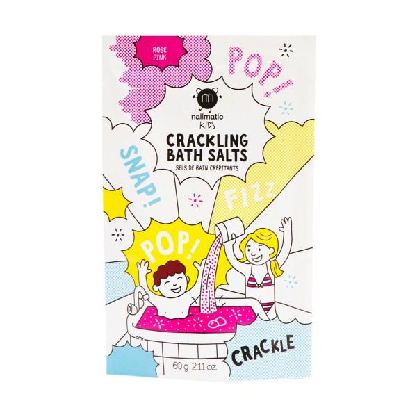 Pink Crackling Bath Salts Spragsinti vonios druska, 60g