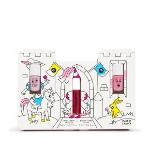 Nailmatic KIDS PRINCESS STORY Kids Trio Set Dovanų rinkinys mergaitėms, 1vnt | inbeauty.lt