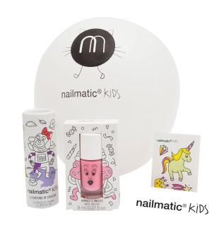 Nailmatic KIDS Princess Surprise Cone Dovanų rinkinys mergaitėms, 1vnt   inbeauty.lt