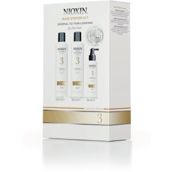 Nioxin rinkinukas - NIOX TRIALKIT SYS3, 1 kompl