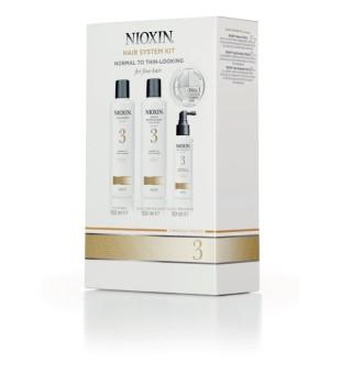 Nioxin SYS3 Hair System Kit Plaukų priežiūros rinkinys, 1vnt. | inbeauty.lt