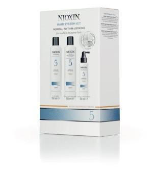Nioxin SYS5 Hair System Kit Plaukų priežiūros rinkinys, 1vnt. | inbeauty.lt