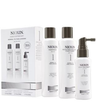 Nioxin SYS1 Hair System Kit Plaukų priežiūros rinkinys, 1vnt. | inbeauty.lt