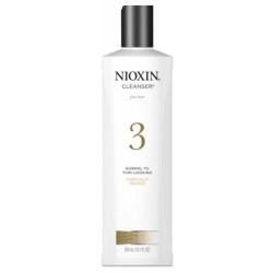 Plaukų ir galvos odos šampūnas - NIOX SYS3 CLEANSER, 300 ml