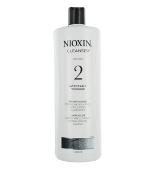 Nioxin SYS2 Cleanser Shampoo Plaukų ir galvos odos šampūnas, 1000 ml | inbeauty.lt