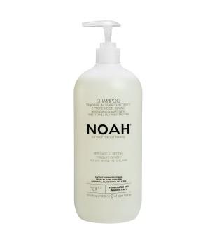 Noah 1.2. Moisturizing Shampoo With Sweet Fennel And Wheat Protein Šampūnas sausiems ir lūžinėjantiems plaukams, 1000 ml  | inbeauty.lt