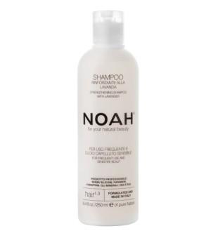 Noah 1.3. Strengthening Shampoo With Lavender Šampūnas kasdieniam naudojimui, jautriai galvos odai, 250 ml | inbeauty.lt