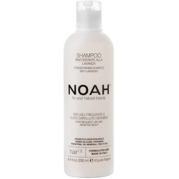 1.3. Strengthening Shampoo With Lavender Šampūnas kasdieniam naudojimui, jautriai galvos odai, 250 ml