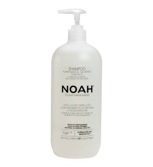 Noah 1.5. Purifying Shampoo With Green Tea Šampūnas nuo pleiskanų, 1000 ml | inbeauty.lt