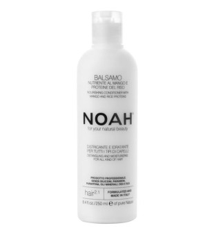 Noah 2.1. Nourishing Conditioner With Mango And Rice Proteins Maitinamasis balzamas lengvinantis plaukų iššukavimą, 250 ml | inbeauty.lt