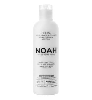 Noah 2.2. Restructuring Cream With Yogurt Atstatomoji kaukė sausiems ir pažeistiems plaukams, 250 ml | inbeauty.lt
