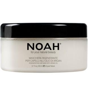 Noah 2.3. Regenerating Mask With Argan Oil Kaukė sausiems ir pažeistiems plaukams, 200 ml | inbeauty.lt