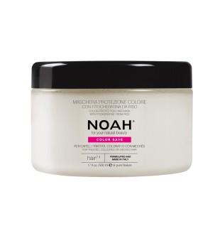 Noah 2.4. Hair Mask With Rice Phytokeratine Spalvą tausojanti kaukė dažytiems plaukams, 500 ml | inbeauty.lt