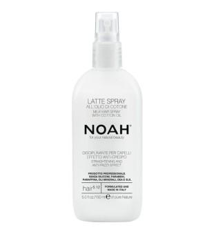 Noah 5.12. Milk Hair Spray With Cotton Oil Plaukų pienelis, apsaugantis nuo vėlimosi, 150 ml  | inbeauty.lt