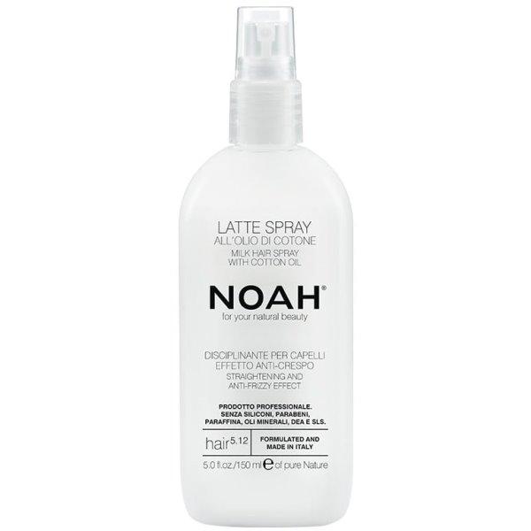 5.12. Milk Hair Spray With Cotton Oil Plaukų pienelis, apsaugantis nuo vėlimosi, 150 ml