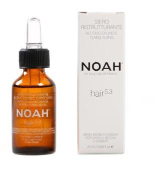 Noah 5.3 Ylang Ylang Restructuring Serum Serumas sausiems ir pažeistiems plaukams, apsaugantis nuo galiukų šakojimosi, 20 ml | inbeauty.lt