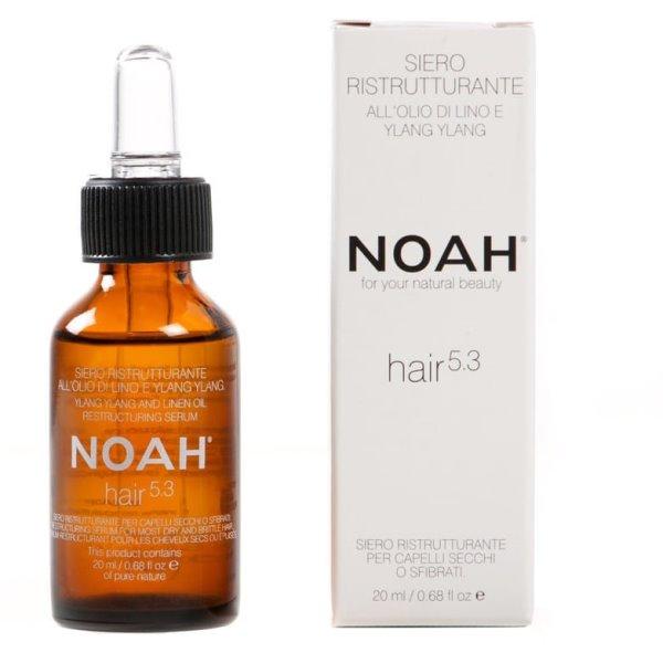 5.3 Ylang Ylang Restructuring Serum Serumas sausiems ir pažeistiems plaukams, apsaugantis nuo galiukų šakojimosi, 20 ml