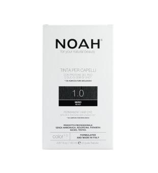 Noah Permanent Hair Dye 1.0 Black Ilgalaikiai plaukų dažai, 140 ml | inbeauty.lt