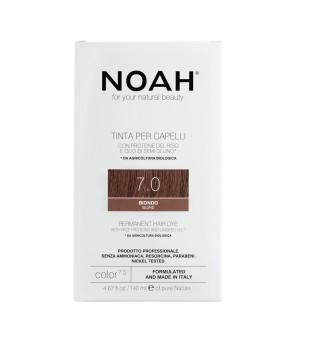 Noah Permanent Hair Dye 7.0 Blond Ilgalaikiai plaukų dažai, 140 ml | inbeauty.lt