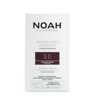 Noah Permanent Hair Dye 3.0 Dark Brown Ilgalaikiai plaukų dažai, 140 ml | inbeauty.lt