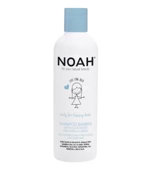 Noah Kids Shampoo Milk And Sugar For Long Hair Vaikiškas šampūnas su pienu ir cukrumi ilgiems plaukams, 250 ml | inbeauty.lt