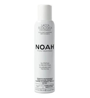 Noah 5.10 Ecological Hairspray With Vitamin E Maitinantis plaukų lakas su argano aliejumi ir vitaminu E, 250 ml  | inbeauty.lt