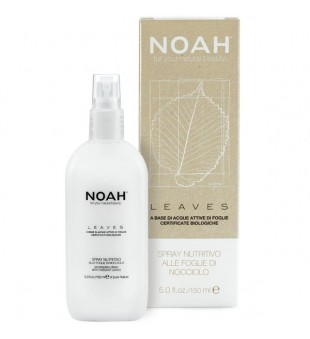Noah LEAVES Nourishing Spray With Hazelnut Leaves Maitinantis purškiklis su riešutmedžio lapais, 150 ml  | inbeauty.lt