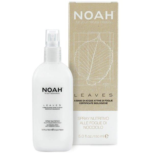 LEAVES Nourishing Spray With Hazelnut Leaves Maitinantis purškiklis su riešutmedžio lapais, 150 ml