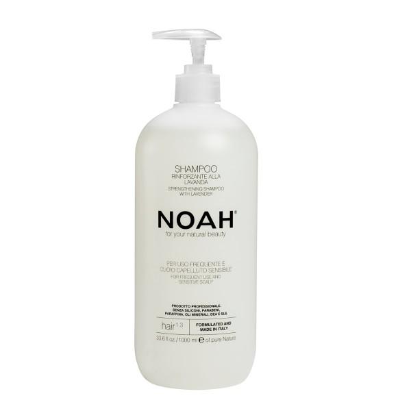 1.3. Strengthening Shampoo With Lavender Šampūnas kasdieniam naudojimui, jautriai galvos odai, 1000 ml