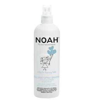 Noah Kids Spray Conditioner Vaikiškas balzamas plaukams su pienu ir cukrumi, 250 ml  | inbeauty.lt