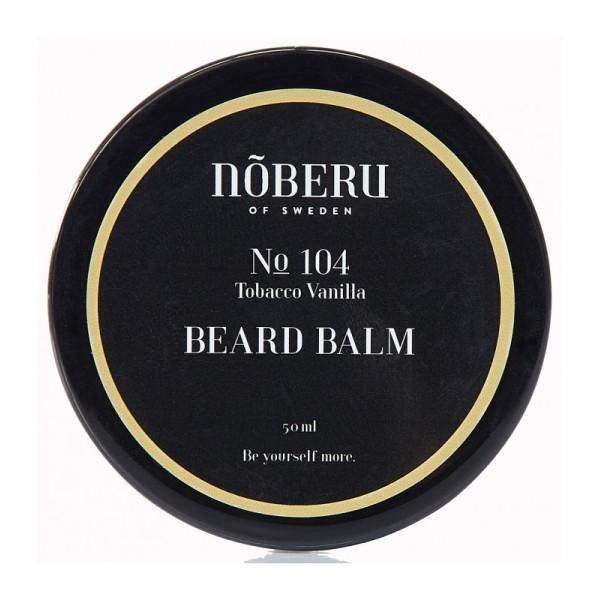 No 104 Beard Balm Tobacco Vanilla Barzdos balzamas, 50ml