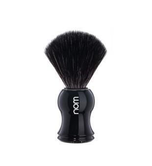 Nom Black Fibre Shaving Brush Skutimosi šepetėlis GUSTAV 21 BL, 1vnt. | inbeauty.lt