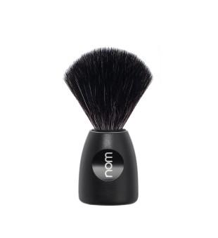 Nom Black Fibre Shaving Brush Skutimosi šepetėlis LASSE 21 BL, 1vnt. | inbeauty.lt
