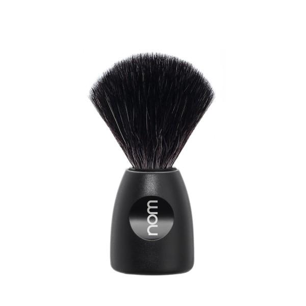 Black Fibre Shaving Brush Skutimosi šepetėlis LASSE 21 BL, 1vnt.