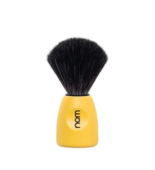 Nom Black Fibre Shaving Brush Skutimosi šepetėlis LASSE 21 LE, 1vnt. | inbeauty.lt