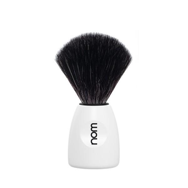 Black Fibre Shaving Brush Skutimosi šepetėlis LASSE 21 WH, 1vnt.