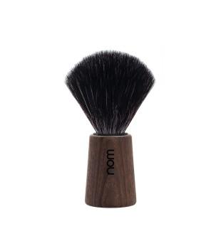 Nom Black Fibre Shaving Brush Skutimosi šepetėlis THEO 21 DA, 1vnt. | inbeauty.lt