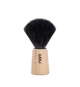 Nom Black Fibre Shaving Brush Skutimosi šepetėlis THEO 21 PA, 1vnt. | inbeauty.lt
